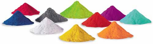 Powder Coating - Many Colors, Textures & Properties Available